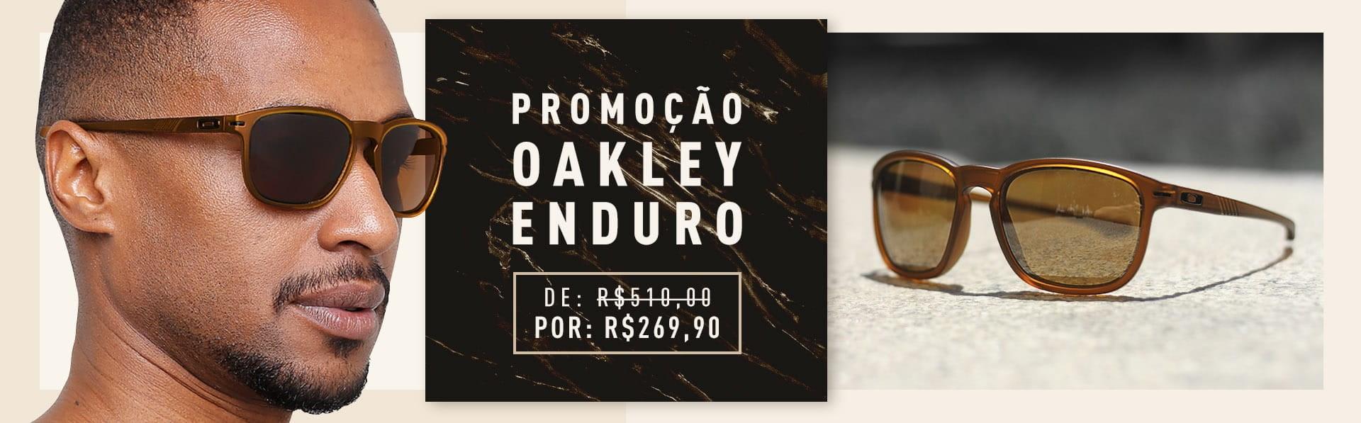 Oakley Enduro promo