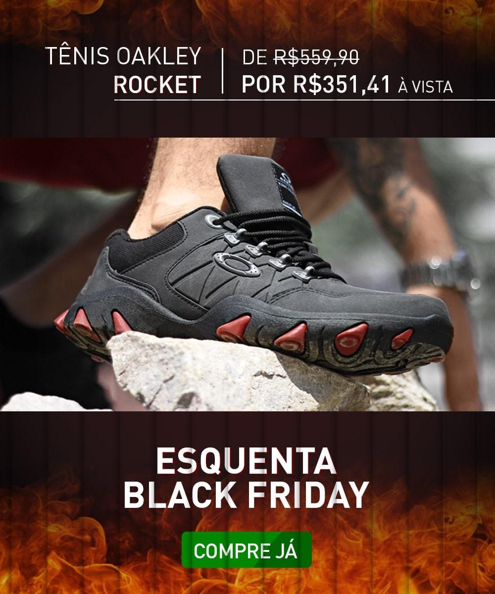 Esquenta Black Friday - Oakley Rocket