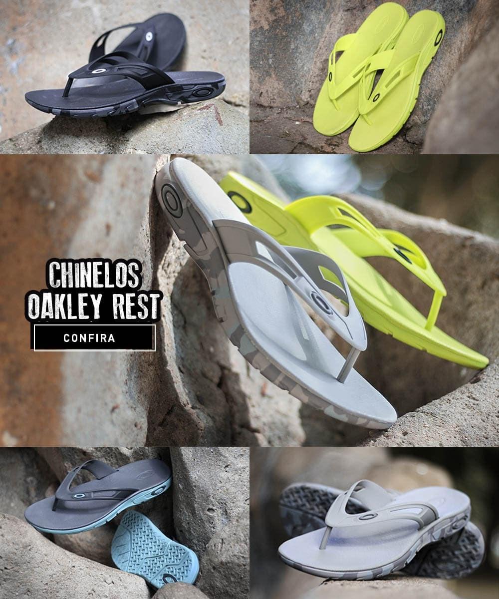 Chinelo Oakley Rest