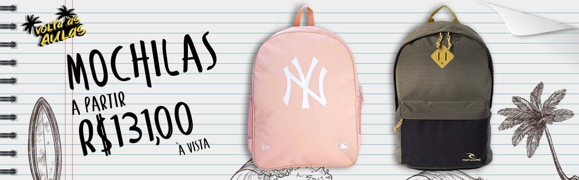 Volta as aulas mochila