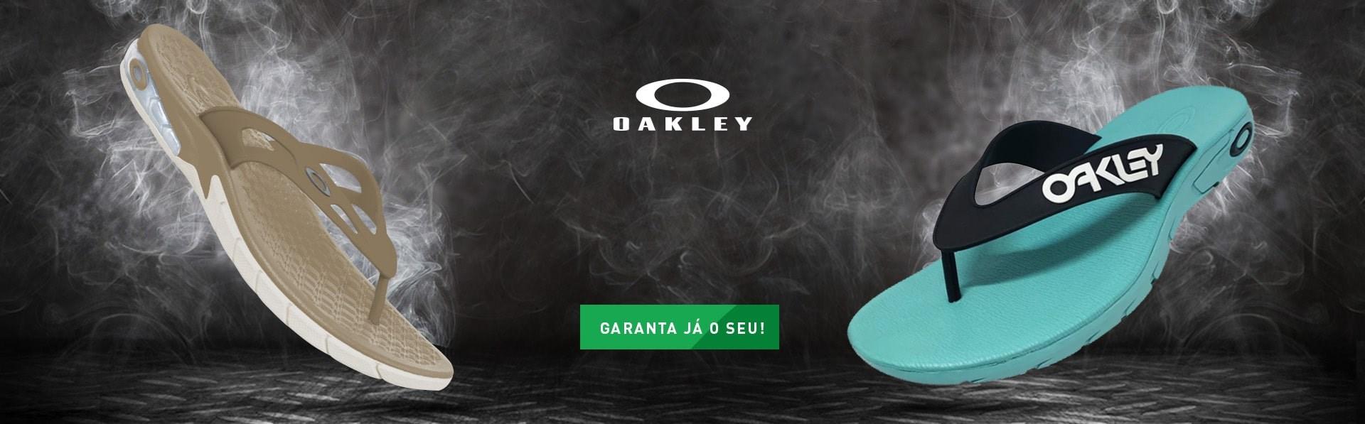 Chinelos oakley
