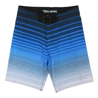 Bermuda Água Billabong All Day Stripe Pro Azul
