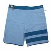 "Bermuda Água Hurley Phantom BP Slub 19"" Azul"