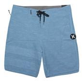 "Bermuda Água Hurley Phantom Slub 18"" Azul"