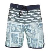 "Bermuda Água Hurley Phantom Tahiti Azul 19"""
