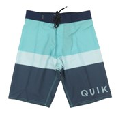 Bermuda Agua Quiksilver Every Day Blocked Verde