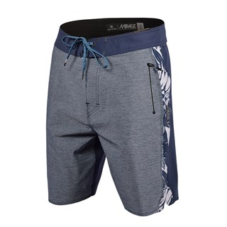 Bermuda Água Rip Curl Mirage Cordura 3/2/One Ultimate 19 Blue