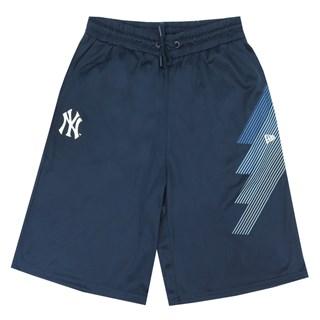 Bermuda Passeio New Era NY Yankees Sport Stripes Azul