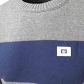 Blusa de Fio Hang Loose Cinza e Azul