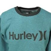 Blusa de Moletom Hurley Azul 636601 Blusa de Moletom Hurley Azul 636601 7dec7319fae