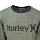 Blusa de Moletom Hurley Verde 636601