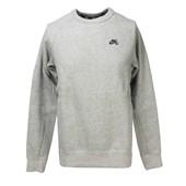 Blusa de Moletom Nike SB Cinza 800153-063 ... 2f500bc8480