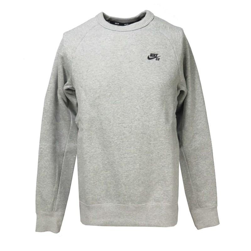 6ced1318d4 Blusa de Moletom Nike SB Cinza 800153-063 - BackWash