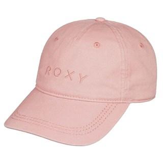 Boné Aba Torta Feminino Roxy Dear Believer Logo Rosa