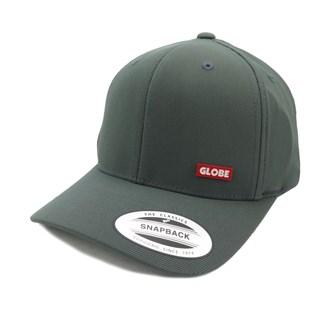 Boné Globe Flexfit Snapback Chumbo