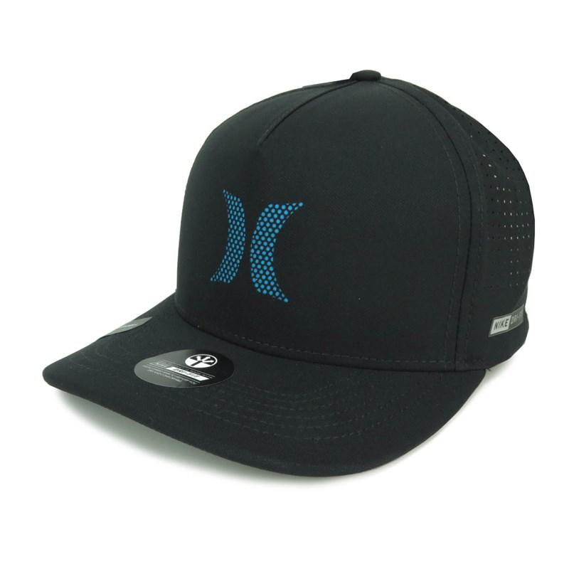 Boné Hurley Aba Curva Nike Dri-fit Preto Azul 636862