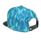 Boné Hurley Aba Reta Nike Dri-fit Azul Preto 636856