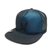Boné Hurley Aba Reta Nike Dri-Fit Azul Preto 637885