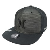 Boné Hurley Aba reta/Snapback Nike Dri-Fit Preto 635883