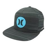 Boné Hurley Aba reta/Snapback Nike Dri-Fit Preto Azul 635852