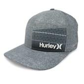 Boné Hurley Aba torta/Snapback Nike Dri-Fit Cinza 635863