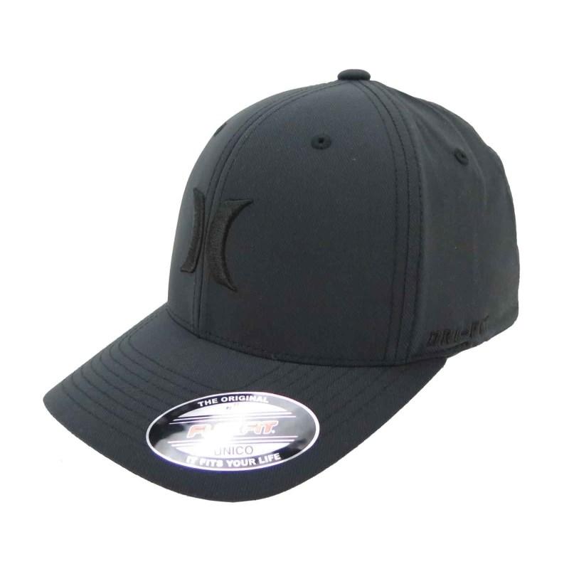 Boné Hurley Nike Dri-fit Preto - Back Wash 9c22768daf8