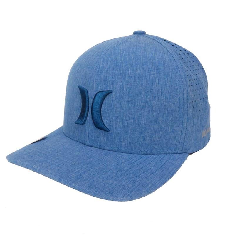 Boné Hurley Phantom Aba Curva Azul 636868 - Back Wash 3cd46ec9b8a
