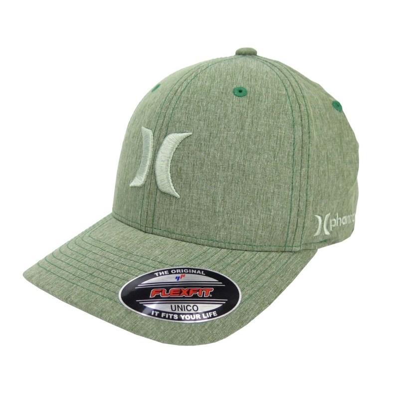 Boné Hurley Phantom Nike Dri-fit - Verde - Back Wash 3c6c2e7d7f0