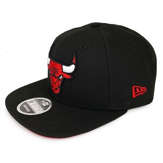 Boné New Era Aba Reta 950 Chicago Bulls Preto