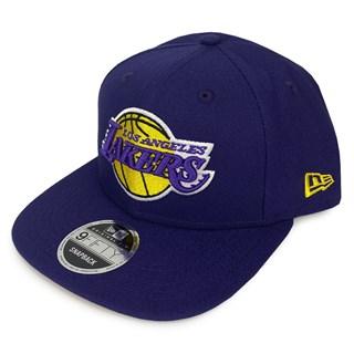 Boné New Era Aba Reta LA Lakers Roxo