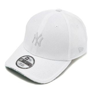 Boné New Era Aba Torta 39Thirty NY Yankees Monotone Branco