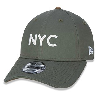 Boné New Era Aba Torta 940 Fashion NYC Verde