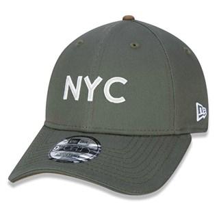 Boné New Era Aba Torta 940 Fashion NYC Verde
