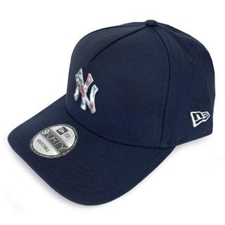 Boné New Era Aba Torta 940 NY Yankees Botany Azul Marinho
