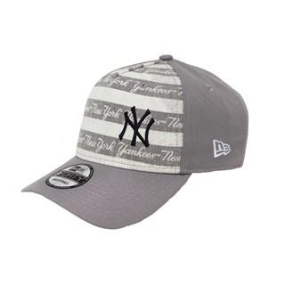 Boné New Era Aba Torta Snapback NY Yankees Cinza