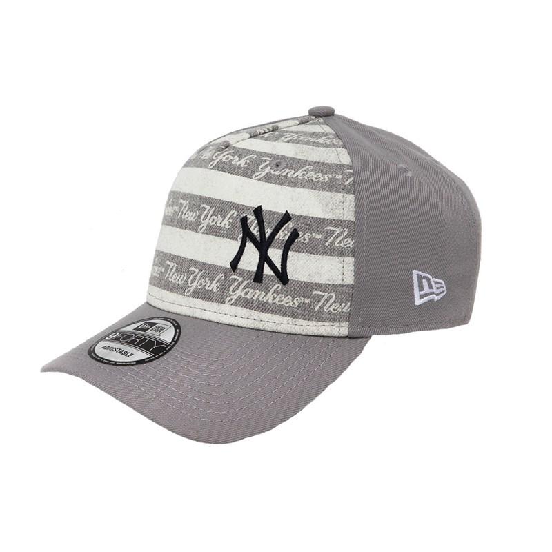 59355e71ff Boné New Era Aba Torta Snapback NY Yankees Cinza - BackWash