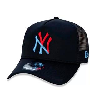 Boné New Era Aba Torta Yankees MBI19 Preto