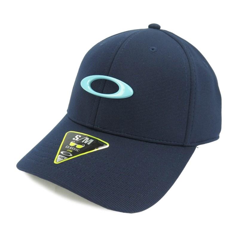 Boné Oakley Fechado Aba Torta Tincan Azul - Back Wash f25b64c6e5a