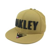 Boné Oakley Snapback Perf Antique Bronze