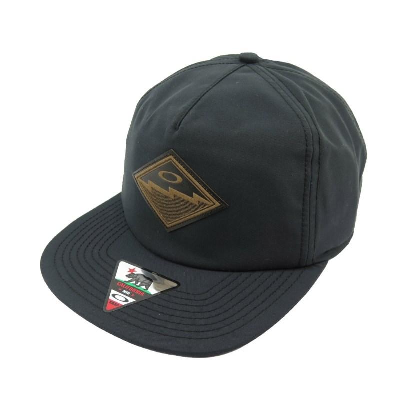 Boné Oakley The Point Hat Jet Black - Back Wash 57938f8c867