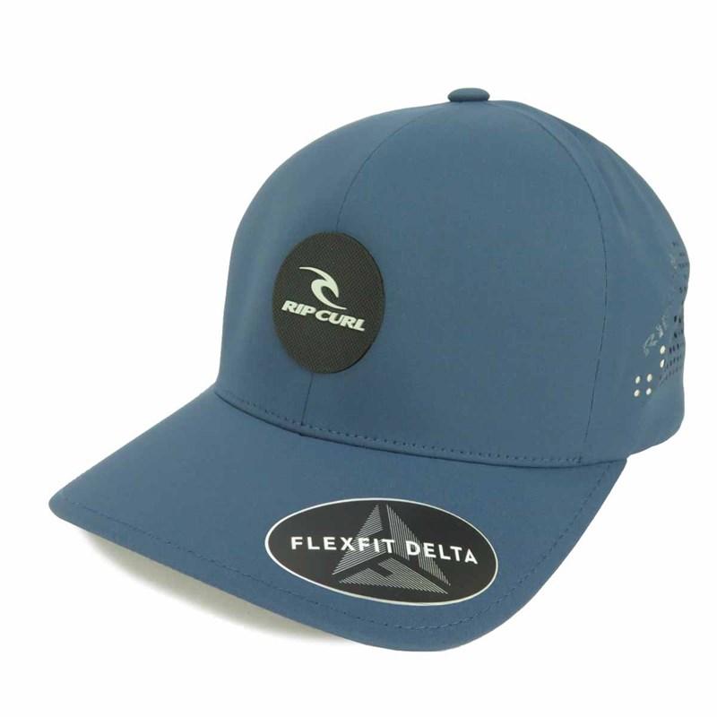 Boné Rip Curl Flexfit Delta Azul - Compre na Back Wash! 138a3dc5f3d