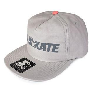 Boné Starter Aba Reta 100% Skate Cinza