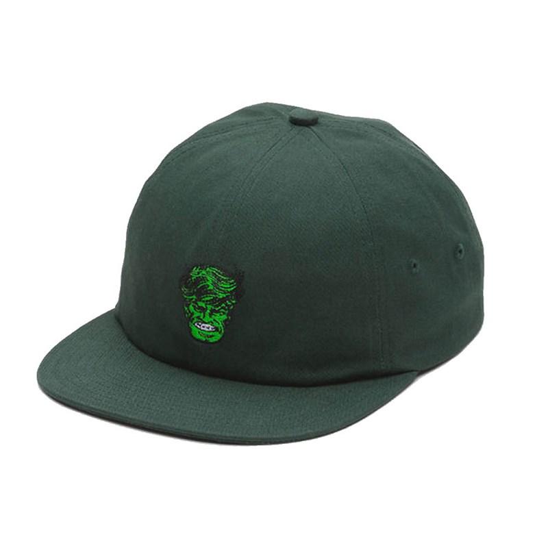 34167d370b1 Boné Vans Aba Reta Marvel Jockey Hulk Verde - Back Wash