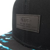 Boné Vans Aba Reta Snap Back AllOver Preto