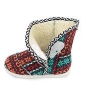 Bota Perky Shoes Confy Kids  Red Handmande