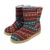 Bota Perky Shoes Confy Teen  Red Handmande