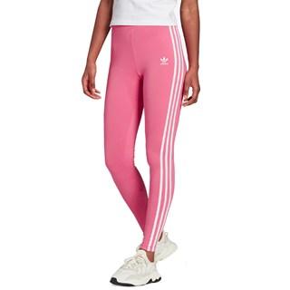 Calça Legging Adidas Adicolor Classic 3 Stripes Rosé
