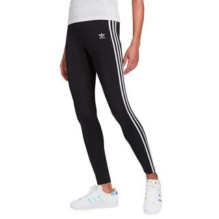 Calça Legging Adidas Adicolor Classics 3 Stripes Preta