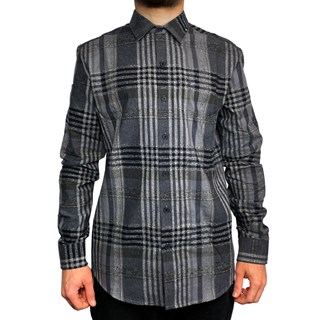 Camisa Manga Longa MCD Check Preta
