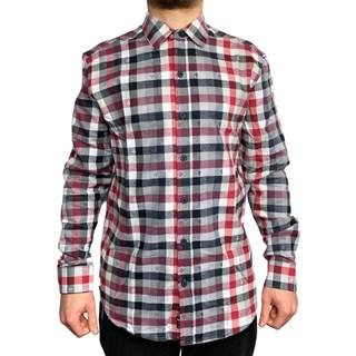 Camisa Manga Longa MCD Check Vermelha